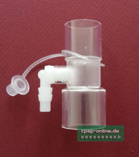 Adapter - Sauerstoffadapter mit Port