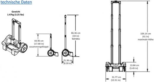 INOGEN G3 / G3HF - Trolly, One Cart