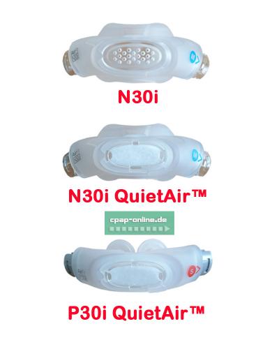 ResMed - AirFit N30i QuirAir - Nasenmaske