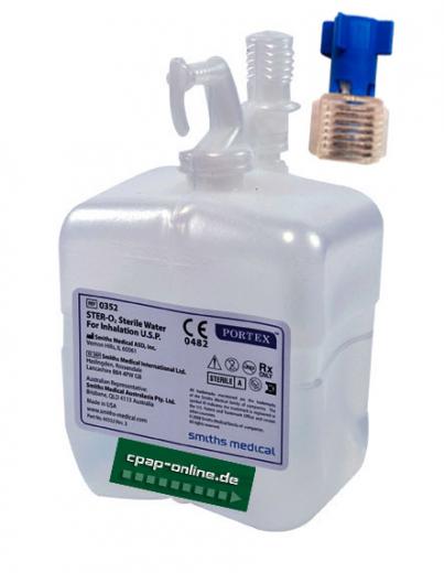 Sterilwassersystem - 650ml pro Flasche