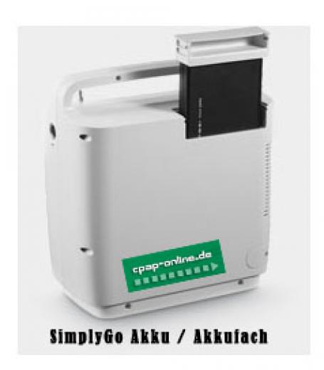 Respironics - SimplyGo - Reise-Kit (Tauschakku)
