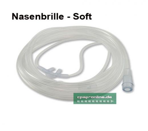 O2- Sauerstoffbrillen, Soft / super Soft -normal / Nasenbrillen