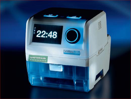 DeVilbiss - BLUE - auto-CPAP