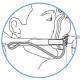 ResMed - Ultra Mirage - FF Maske (NV) - Clip mit Reißleine